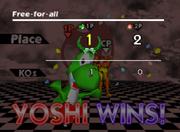 Pose de victoria de Yoshi (3-2) SSB.png