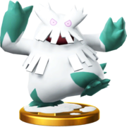 Trofeo de Abomasnow SSB4 (Wii U).png