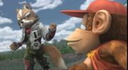 Fox y Diddy Kong selección (1) ESE SSBB.png