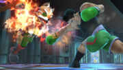 Little Mac atacando a Fox en la Liga Pokemon SSBWiiU.png