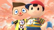 Créditos Modo Leyendas de la lucha Ness SSB4 (Wii U).png