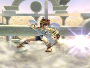 Ataque Smash inferior Pit SSBB.jpg