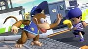 Diddy Kong y Ness en Torres Merluza SSBU.jpg