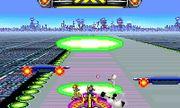 Nave lanzando aureolas sobre el escenario Mute City SSB4 (3DS).jpg