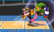 Lanzamiento hacia adelante de Wario (1) SSB4 (3DS).JPG