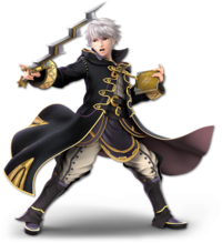 Art oficial de Daraen en Super Smash Bros. Ultimate
