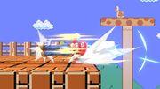 Ataque de recuperación desde el borde de Mario SSBU.jpg
