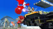 Fox explotando los globos del Aldeano SSB4 (Wii U).jpg