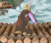 Lanzamiento hacia abajo de Donkey Kong (1) SSBM.png