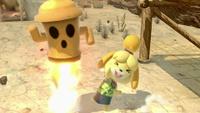Canela usando la Trampa Giroide en Super Smash Bros. Ultimate