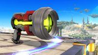 Una Pistola de rayos en Super Smash Bros. para Wii U.