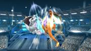 Charizard atacando un oponente con Vuelo SSB4 (Wii U).png