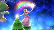 Ataque aéreo hacia arriba Peach SSB4 Wii U.jpg