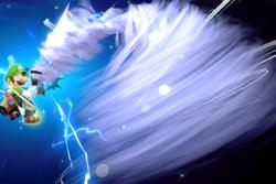 Vista previa de Succionaentes GOM-1L en la sección de Técnicas de Super Smash Bros. Ultimate