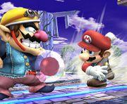 Mario lanzando una bomba Gooey SSBB.jpg