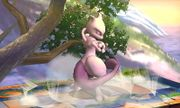 Burla hacia arriba Mewtwo (1) SSB4 (3DS).JPG