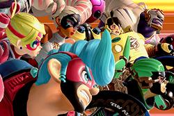 Vista previa de Avalancha ARMS en la sección de Técnicas de Super Smash Bros. Ultimate.