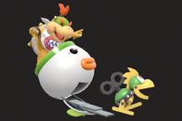 Vista previa de Mecakoopa/Mechakoopa en la sección de Técnicas de Super Smash Bros. Ultimate