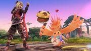 Riki junto a Shulk en el Campo de Batalla SSB4 (Wii U).jpg