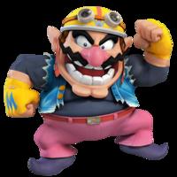 Art oficial de Wario en Super Smash Bros. para Nintendo 3DS y Wii U