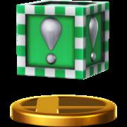 Trofeo Bloque Verde SSB4 (Wii U).png