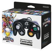 Caja del mando negro de Nintendo GameCube especial de Super Smash Bros..jpg