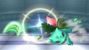 Ivysaur lanzando una Hoja Navaja SSBB.png