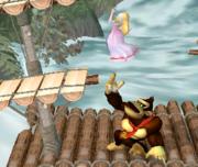 Lanzamiento hacia arriba de Donkey Kong (2) SSBM.png