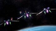 Peach, Samus y Palutena en la Estación espacial SSB4 (Wii U).jpg