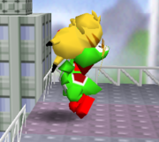 Lanzamiento delantero de Pikachu (1) SSB.png