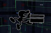 Ataque aéreo hacia adelante Mr. Game & Watch SSBM.png