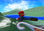 Ataque de recuperación desde el borde 100% de Mario SSBM.png