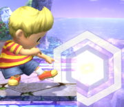 Ataque Smash inferior Lucas SSBB (2).png