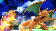 Charizard versus Mario SSB4 (Wii U).png