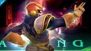 Captain Falcon haciendo una burla en el Hal Abarda SSB4 (Wii U).jpg