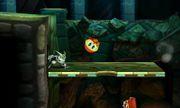 Pooka atacando a Greninja en Smashventura SSB4 (3DS).jpg
