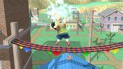 Ataque fuerte hacia arriba Ness SSB4 (Wii U).JPG
