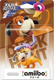 Embalaje del amiibo de Dúo Duck Hunt (Japón).jpg