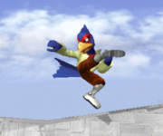 Ataque Smash lateral de Falco (1) SSBM.png