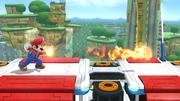 Bola de fuego personalizable (segundo efecto) en tierra SSB4 (Wii U).png