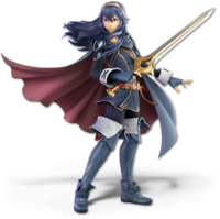 Art oficial de Lucina en Super Smash Bros. Ultimate.