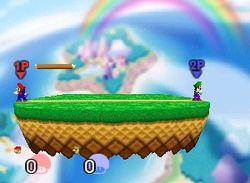 Mario y Luigi en el tutorial