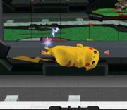 Ataque aéreo hacia adelante de Pikachu SSBM.png