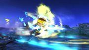 Espadachín Mii usando Carga de aura (1) SSB4 (Wii U).jpg