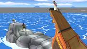 Gran roca en el Barco pirata SSBB.png