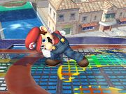 Ataque Smash hacia arriba (3) Mario SSBB.jpg