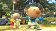Alph y Olimar en el Vergel de la Esperanza SSB4 (Wii U).jpg