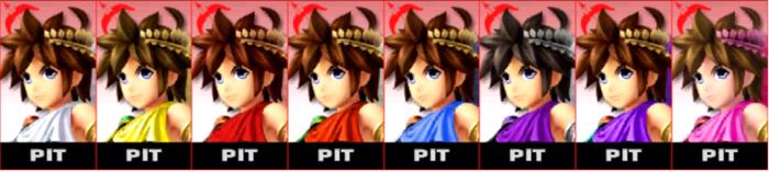 Paleta de colores de Pit SSB4 (3DS).png