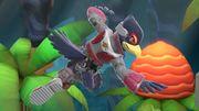 Falco en El gran ataque de las cavernas SSBU.jpg