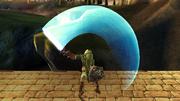Ataque Smash hacia arriba Link SSBB (3).png